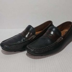 1901 Leather Penny Loafer Driving Shoes Sz 7M